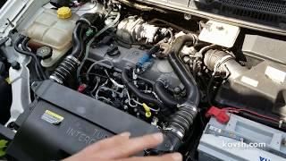 Причина дымления дизеля на холодную о которой многие не знают, Ford  Connect 1.8d, HCPA