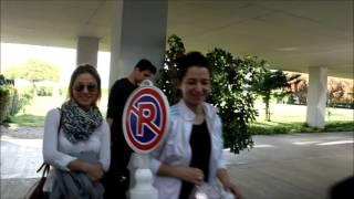 Takımlarımızdan Dinkal Sigorta'nın otele girişi