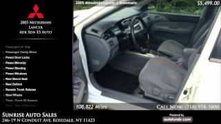 Used 2005 Mitsubishi Lancer | Sunrise Auto Sales, Rosedale, NY