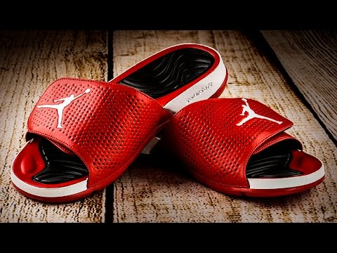 add4a5349eb10b JORDAN HYDRO 5 SLIDES REVIEW!!! - YouTube