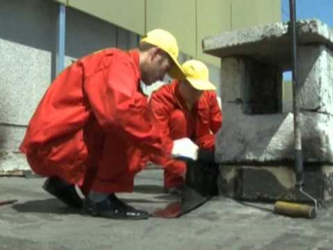 видео: Гидроизоляция  трубы. Течет крыша.