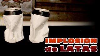 Aprende a hacer una implosion con una lata  │ Experimento Fácil│ Física