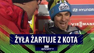 PŚ, Zakopane: Piotr Żyła żartuje z Macieja Kota