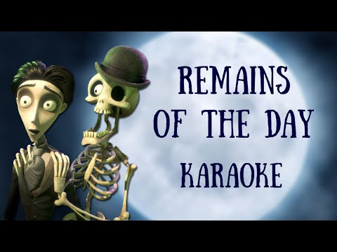 Remains of the Day - Corpse Bride (Multilanguage Karaoke)