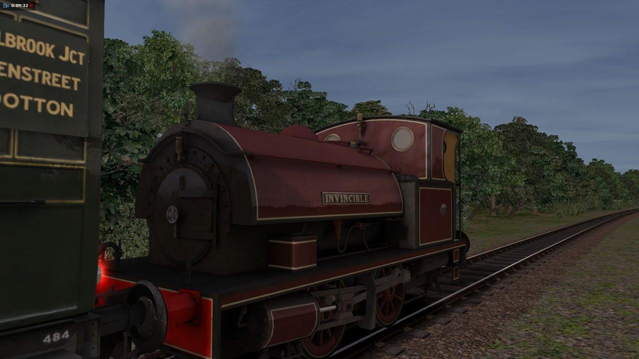 die isle of wight nostalgie dampfeisenbahn train simulator isle of wight steam railway railworks