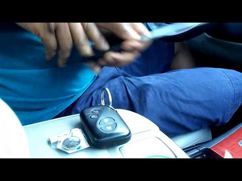 Lexus Es 350 How To Change Replace Dead Battery In Your Remote Key
