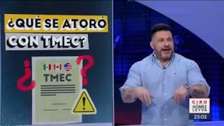 David Páramo responde a conservadores por T-Mec | Noticias con Ciro Gómez Leyva