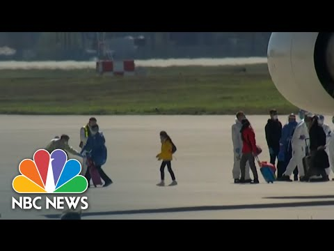 Americans Returning From Wuhan, China Quarantined At Military Facilities | NBC Nightly News