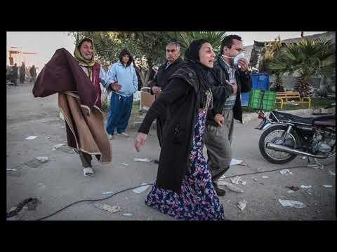 In the mourning of Kermanshah