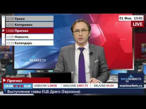 01.02.16 (13:00 MSK) - Прогноз форекс MaхiMarkets.