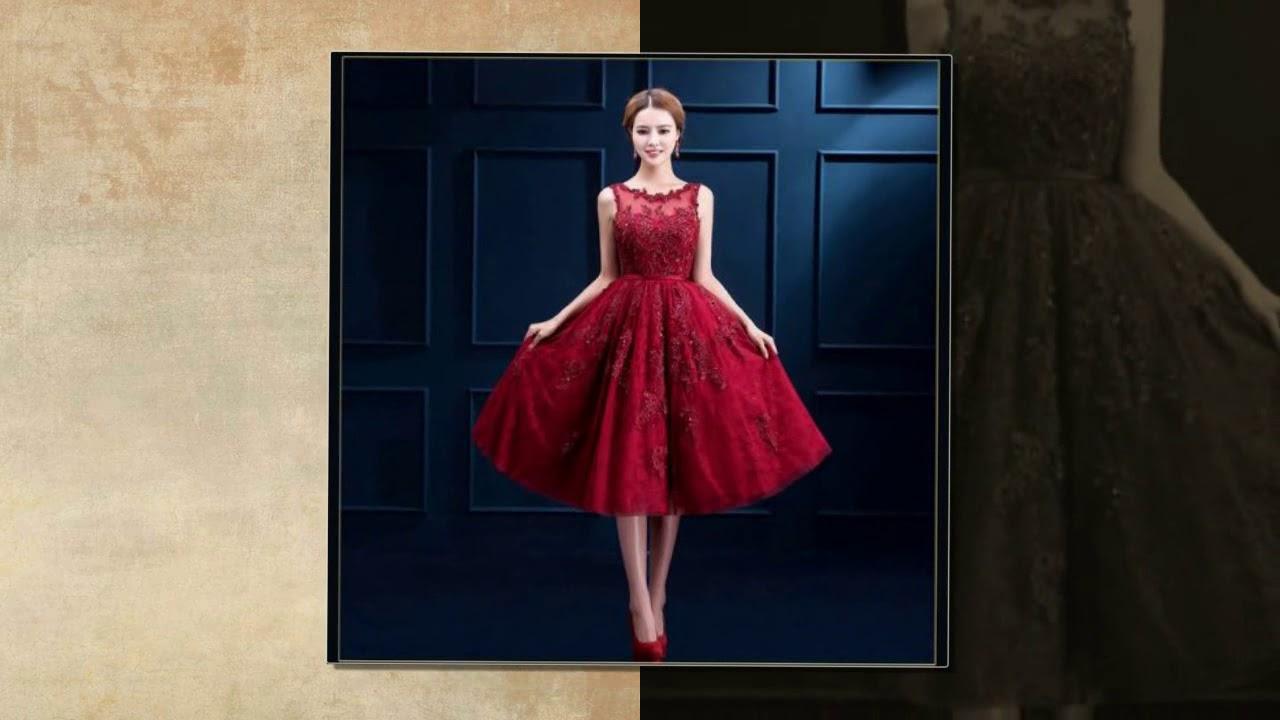 8294c7aa8 شاهد احدث موديلات فساتين السهرة القصيرة 2018 | #2 | Fashion Evening Dresses  2018 | عالم الجمال