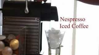 Super Easy Iced Coffee Using nespresso Pixie