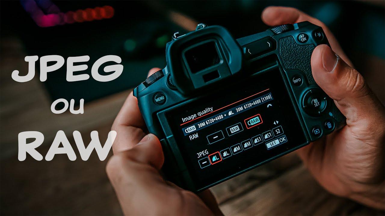 Raw vs JPEG - Qual escolher ?  Sempre compensa usar RAW ?
