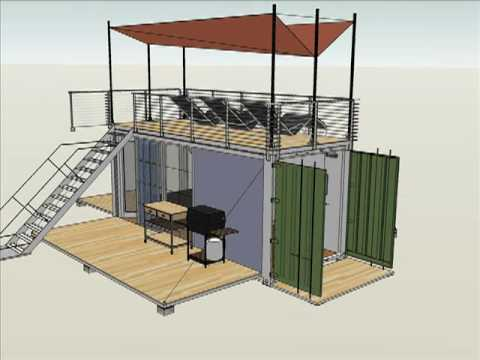 One Container Home Type I Youtube
