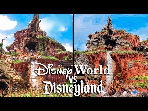 Top Disney World Rides vs Disneyland Rides!