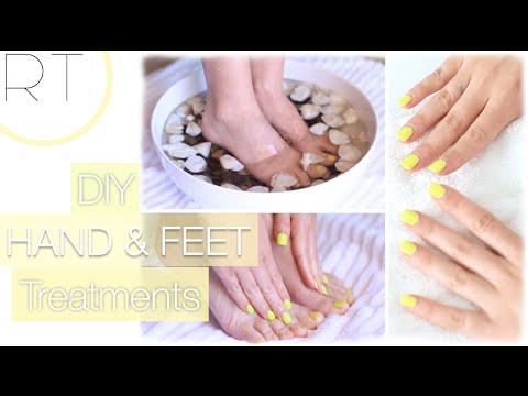 DIY Hand & Foot Treatments