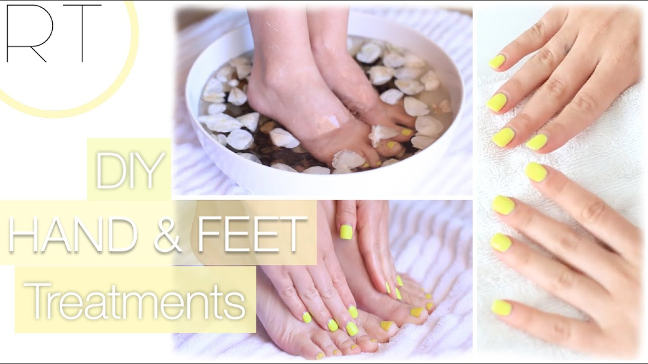 Hand and feet treatments