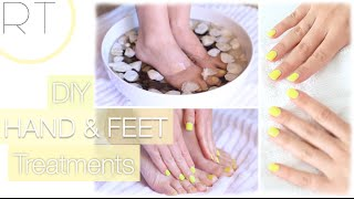 DIY Hand & Foot Treatments