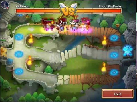 Castle Clash: Ice Demon In Arena???