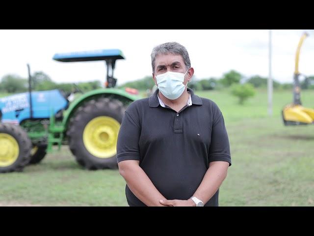 Maquinarias y tecnología para el agro