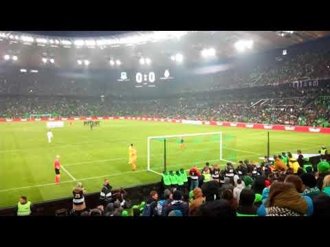 Краснодар - Реал Мадрид как не надо бить пенальти 07.02.18(((
