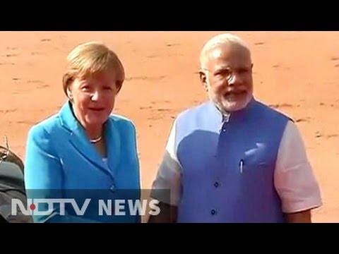 Business first as German Chancellor Angela Merkel meets PM Modi