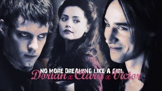 » no more dreaming like a girl (dorian gray x clara oswald x victor frankenstein)