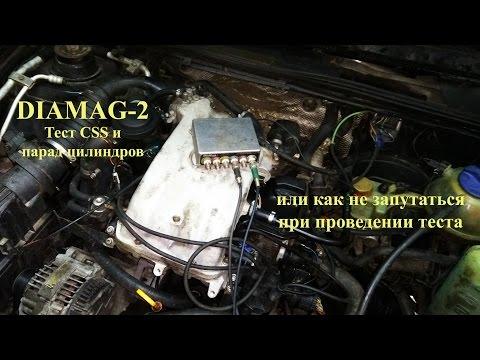 VW Passat B4. AEK. Diamag 2. Диагностика и поиск неисправности.