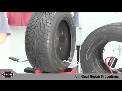 Proper installation of TECH Uni-Seal Repairs