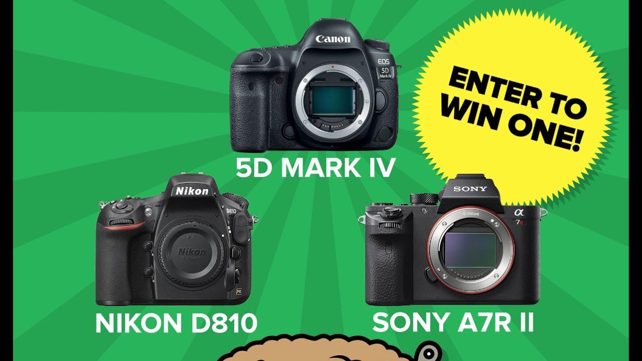Win a canon 5d mark iv