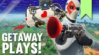 BEST GETAWAY LTM PLAYS! | FORTNITE FUNNY FAILS AND BEST MOMENTS #075 (DAILY MOMENTS)