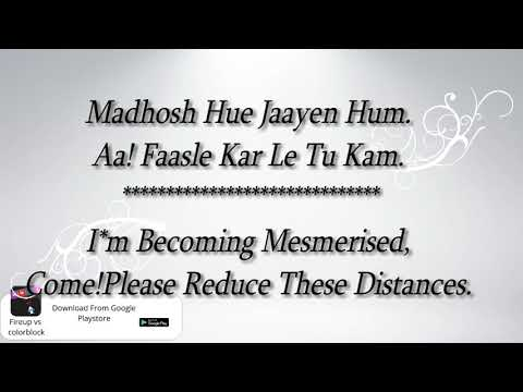 Tere Liye Atif Aslam & Shreya Ghoshal Prince Lyrical Video With Translation