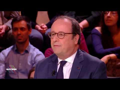 Macron est le président des très riches d'après François Hollande