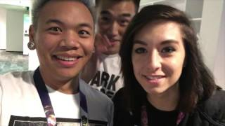 Watching League of Legends Live? & Meeting Faker... - [2nd Vlog of Xmas]​​​ | AJ Rafael​​​