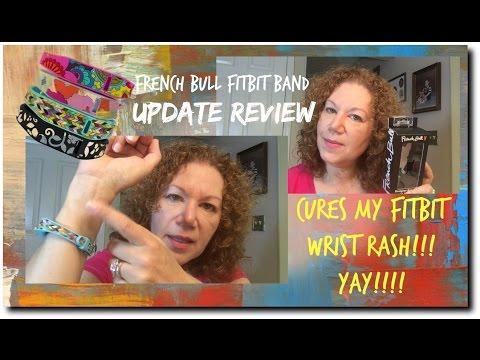Fitbit French Bull Band Wrist Rash Update