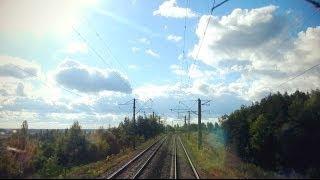 Вид глазами машиниста на окружающий мир: на участке Киев Пасс. - Малин