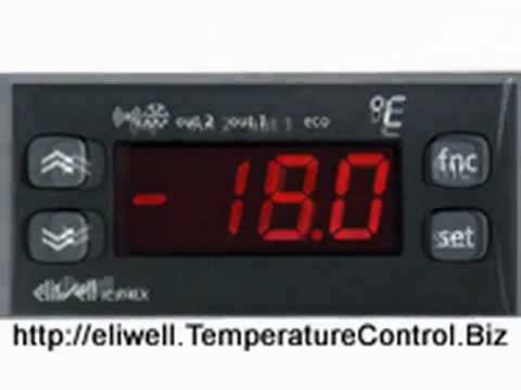 Eliwell id974 12 volt digital refrigeration thermostat controller.