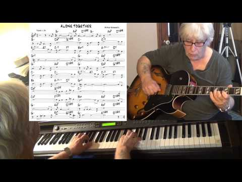 Alone Together - guitar & piano jazz cover (Arthur Schwartz) Yvan Jacques