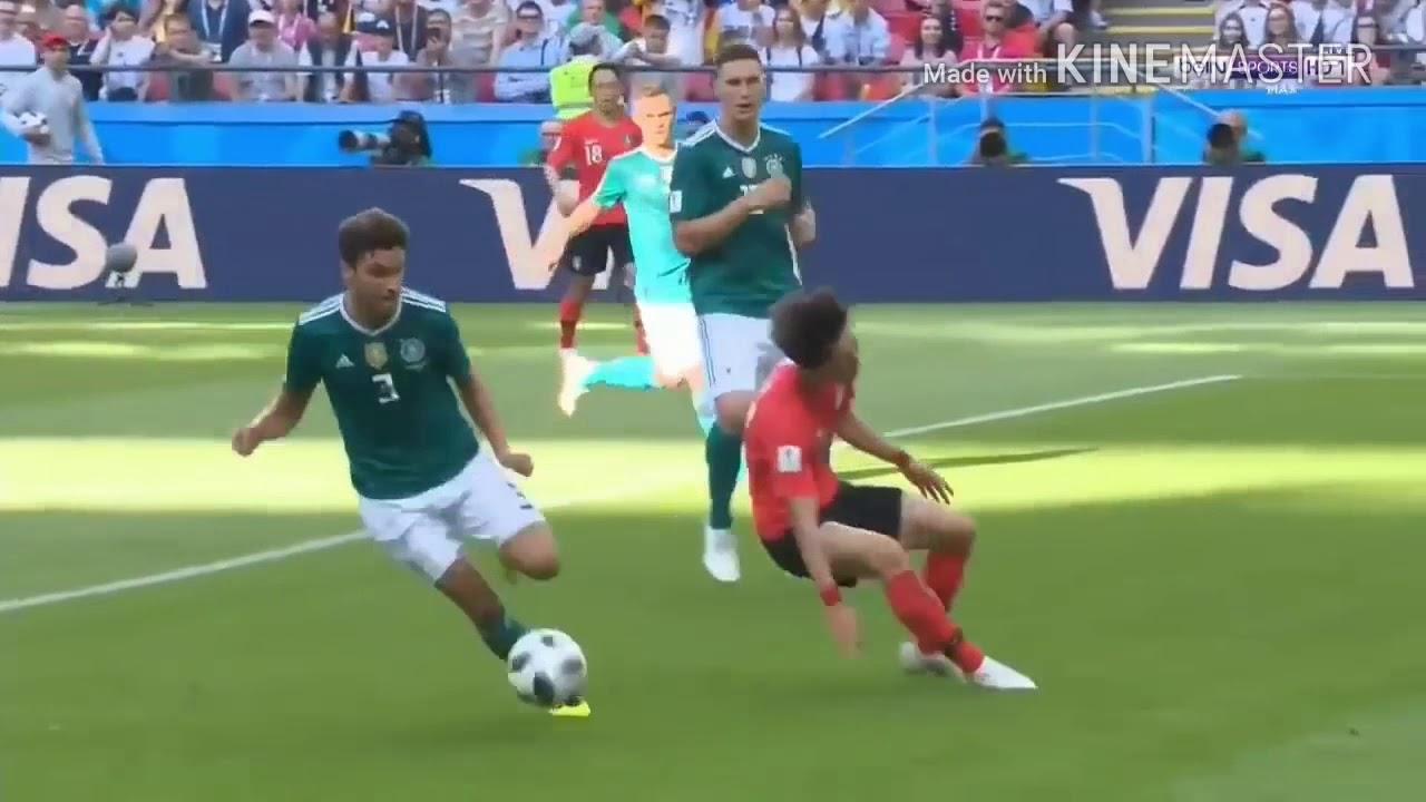 ملخص مباراة المانيا وكوريا الجنوبية 0-2 المجنونة 😱😱