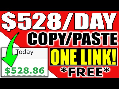 GET PAID $528 Daily Using Just ONE LINK (FREE) WORLDWIDE (Make Money Online)