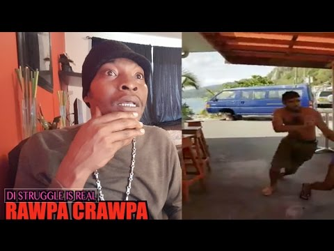 MEAN WHILE IN DOMINICA (17 April 2017 ) RAWPA CRAWPA VLOG
