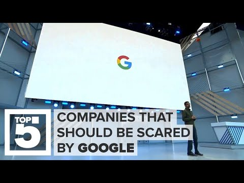 Who should be scared of Google now (CNET Top 5)