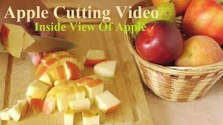 What Happen When You Cut An Apple | How To Keep Cut Up Apple Fresh | Inside View Of Apple