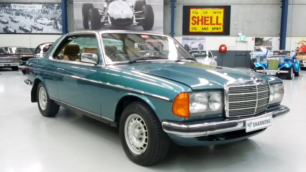 1984 Mercedes-Benz 280CE Coupe - 2020 Shannons Winter Timed Online Auction