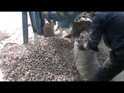 Oceania Bio Energy Briquette machine video large briquettes made by Zhangqiu Fada Pellet Machinery
