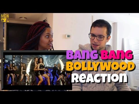 Bang Bang Title Track - Hrithik Roshan & Katrina Kaif Reaction