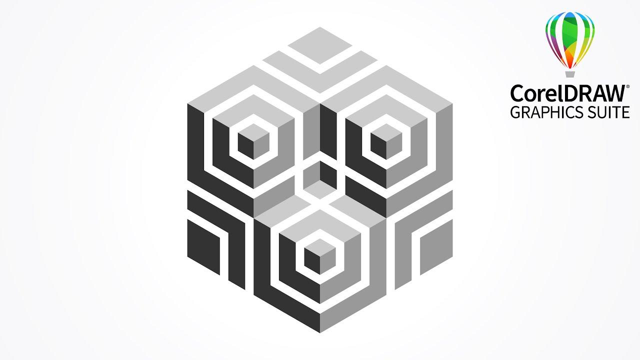 Best logo design | 3D logo design | Polygon | Corel DRAW tutorials | 003