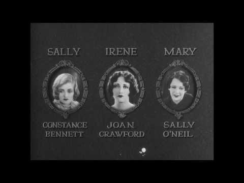 Sally, Irene And Mary (1925) Restoration Trailer