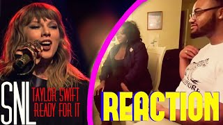 TAYLOR SWIFT READY FOR IT LIVE ON SNL REACTION
