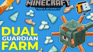 GUARDIAN FARM+ | Truly Bedrock Season 2 [18] | Minecraft Bedrock Edition 1.16 SMP